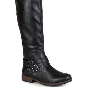 Journee Collection April Wide Calf Boot Size 8
